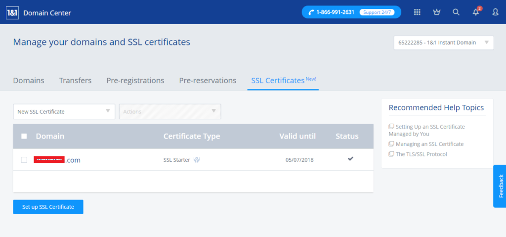 SSL certificates provide security for customers browsing and purchasing on your website. We offer a range of SSL certificates to suit your needs and budget.