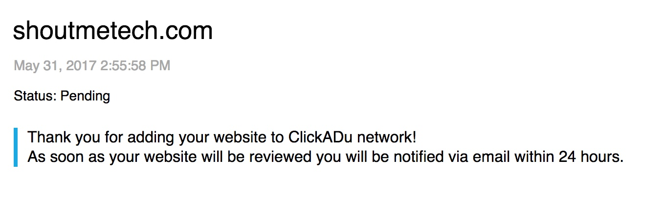 It took about 6 hours for me to get the approval email.