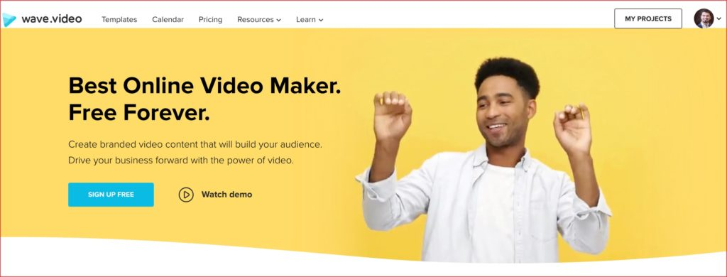 Wave Video maker
