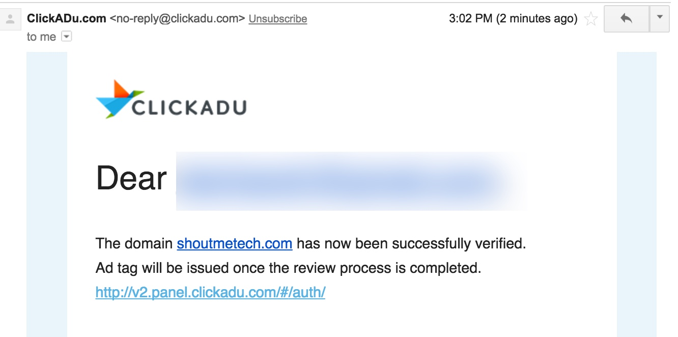After receiving the email, you can remove that approval code.