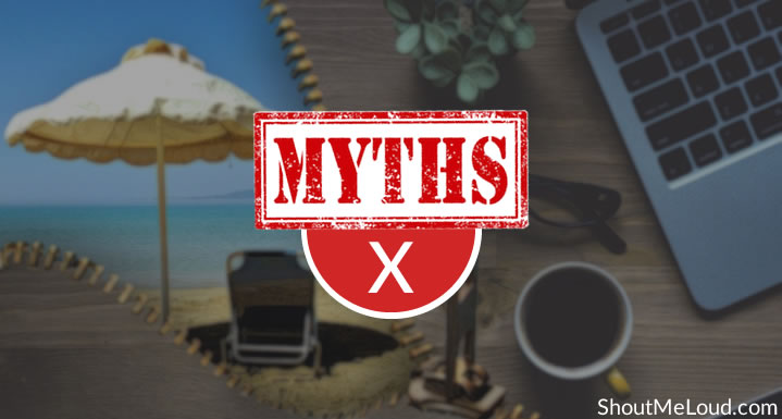 Myths About Being A Digital Nomad