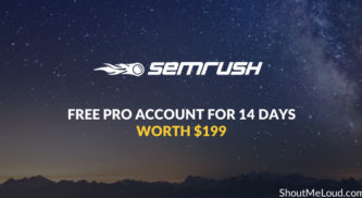 SEMrush Coupon: Free Guru Account For 14 Days (Worth $199.95)