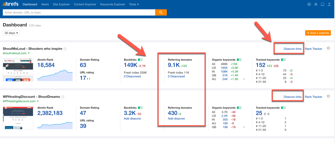 How To Generate A Disavow File Using Ahrefs SEO Suite