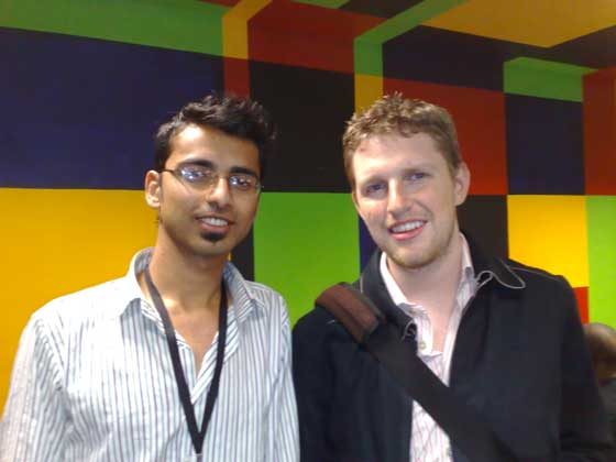 Harsh Agrawal (Me) with Matt Mullenweg