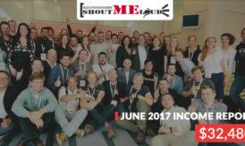 ShoutMeLoud June 2017 Income & Traffic Report – Russia Trip & More