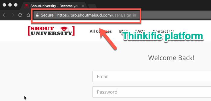 Shout University on Thinkific