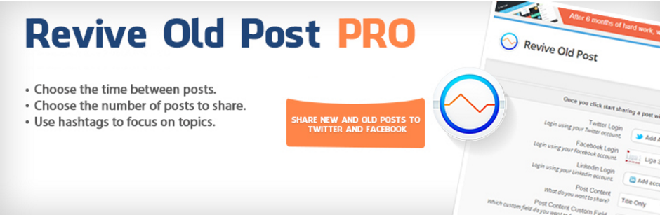 Revive Old Post – Auto Post to Social Media
