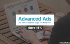 Save 15% On Advanced Ads – WP Ad Management Plugin