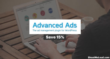 Save 15% On Advanced Ads – WP Ad Management Plugin