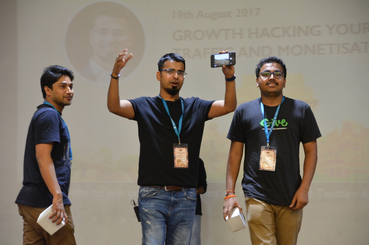 WordCamp Delhi 2017 Growth Hacking Slide Deck & Photos