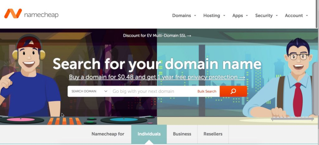 Namecheap coupon transfer domain