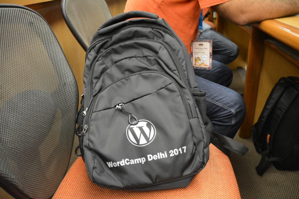 WordCamp Delhi 2017 Bag