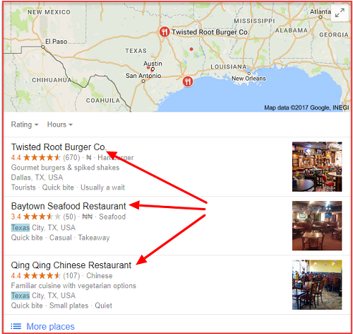 Restaurants in Texas