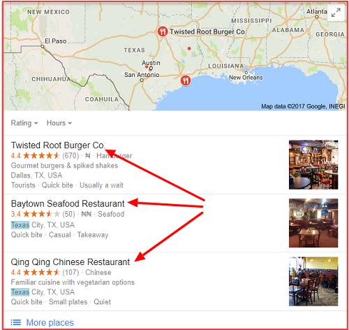 Restaurants in Texas