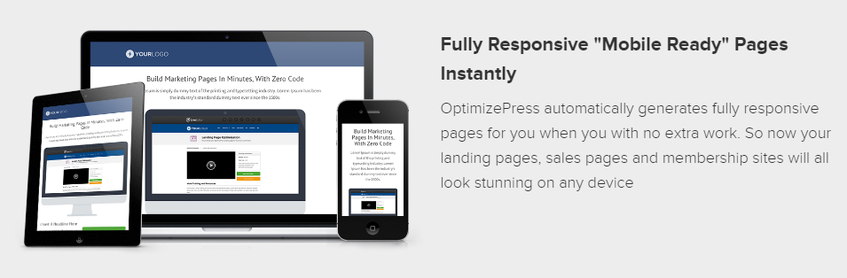 OptimizePress - Fully Responsive