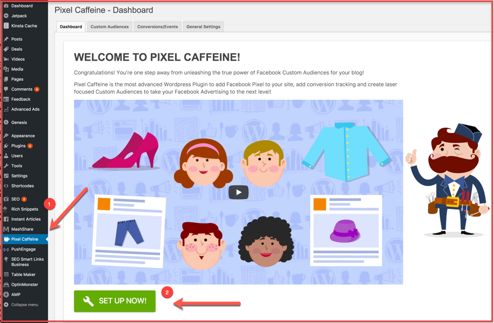 Pixel-Caffeine-WordPress-plugin