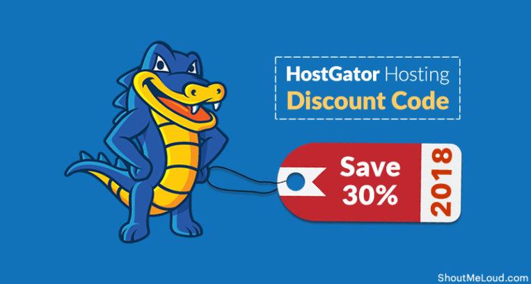 Hostgator discount coupon 2018