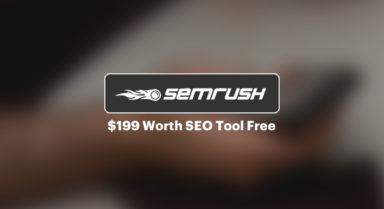 SEMRUSH Deal – 14 Days Free Trial Worth $199