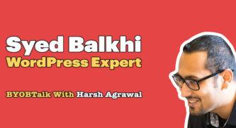 Syed Balkhi – Scaling Up Your WordPress Business (Mindset & Strategies)