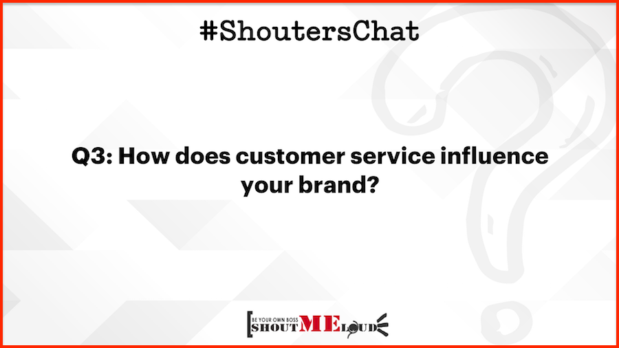 How does customer service influence your brand
