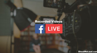 How To Live Stream Recorded Videos To Facebook Page For Free