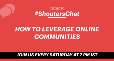 How To Leverage Online Communities – A #ShoutersChat Recap