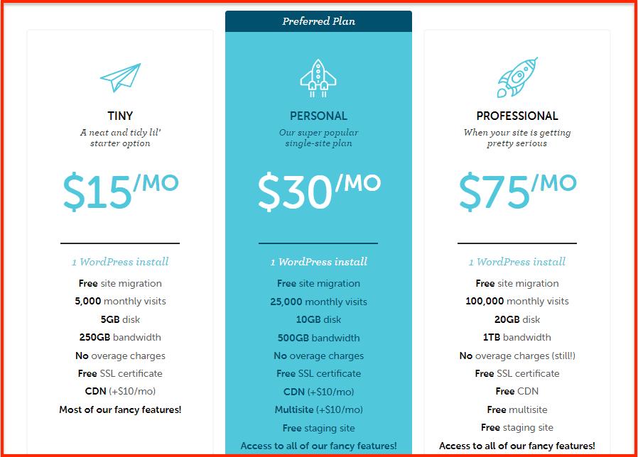 Flywheel Hosting Cost