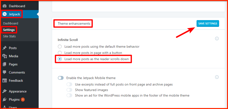 Wordpress Scrolling Footer