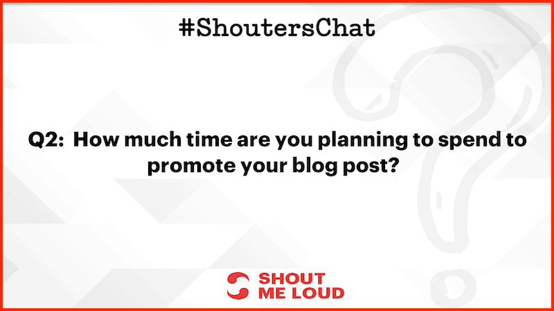 Promote blog post