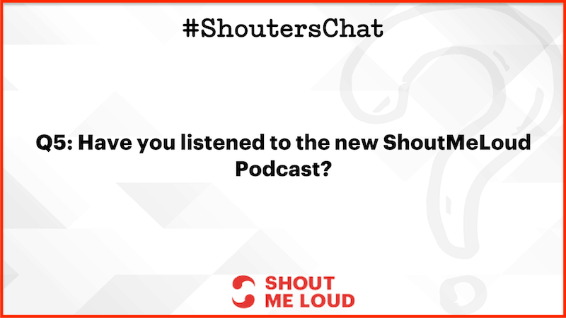 ShoutMeLoud podcast