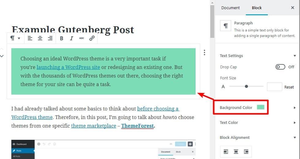 Trình soạn thảo Gutenberg - Hướng dẫn cách sử dụng cho người bắt đầu how-to-use-wordpress-gutenberg-editor-10