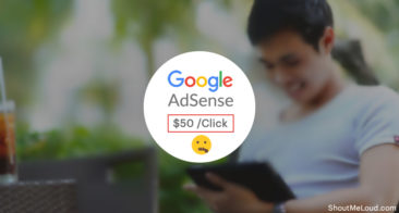 A Secret To Earning $50 per Click from Google AdSense
