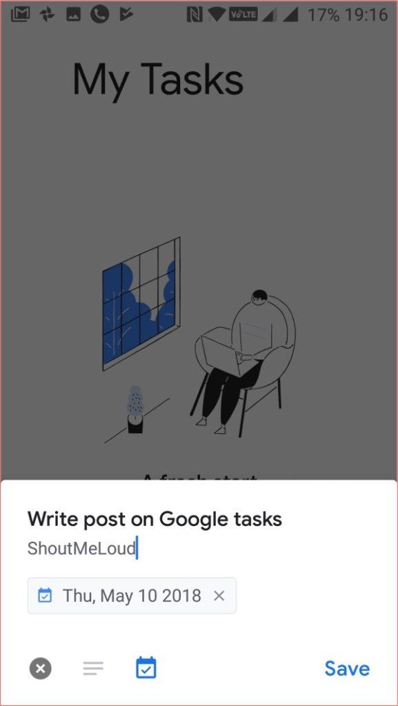 Download Google Task app