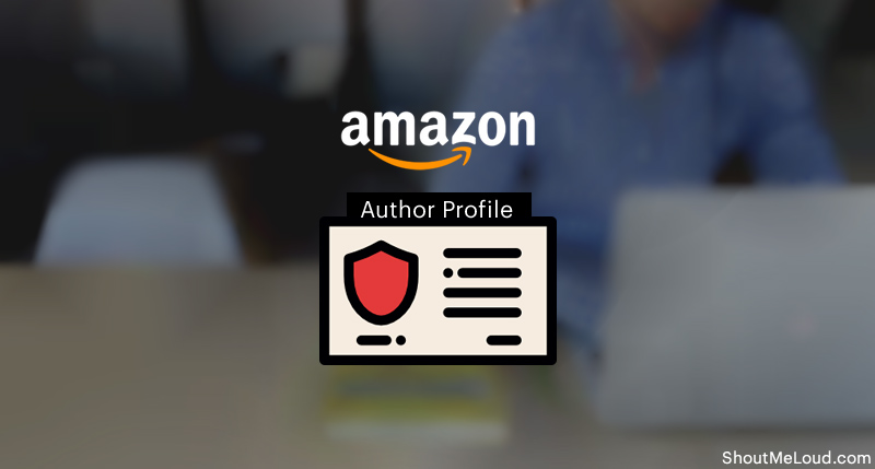 Create An Author Profile On Amazon