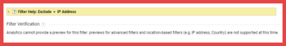 Google Analytics Preview Not Available