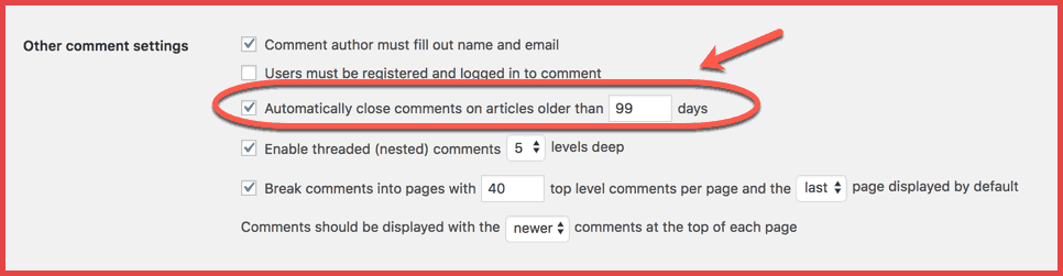 WordPress-commenting-settings