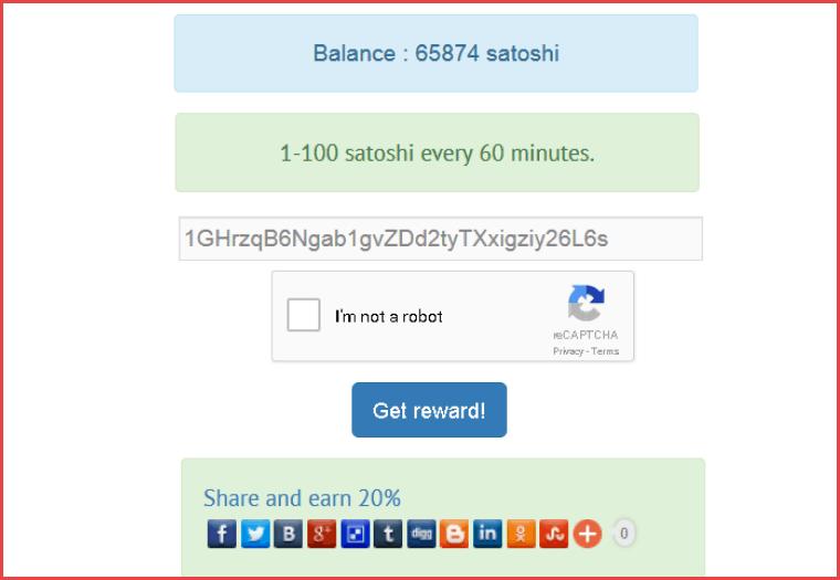 Bitcoin Faucet Plugin