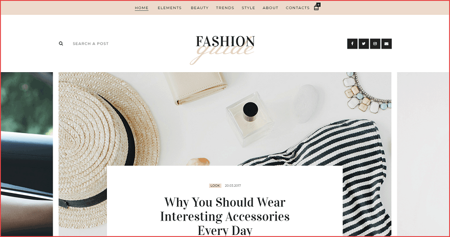 Fashion Guide Theme