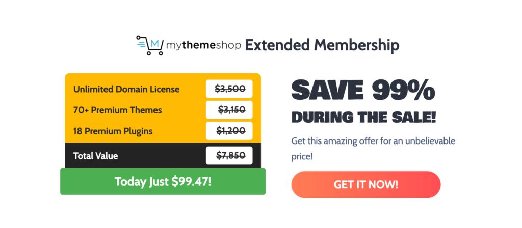 MyThemeShop Black Friday: Get 99% OFF