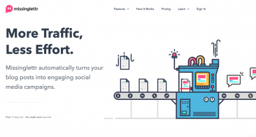 MissingLettr Review – Automatic AI-Supported Social Media Post Creation