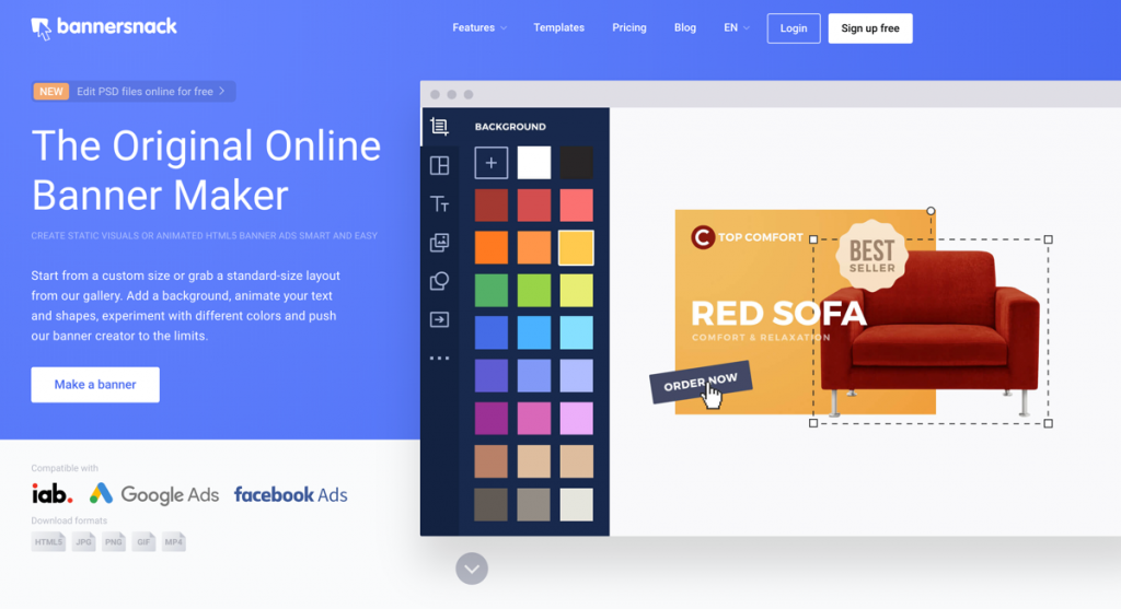 4 Best Banner Ad Maker Software Services To Create Banner Ads