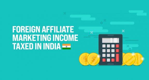 Affiliate marketing taxation India