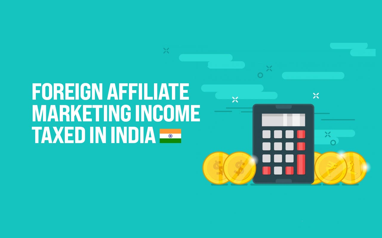 Affiliate marketing taxation India