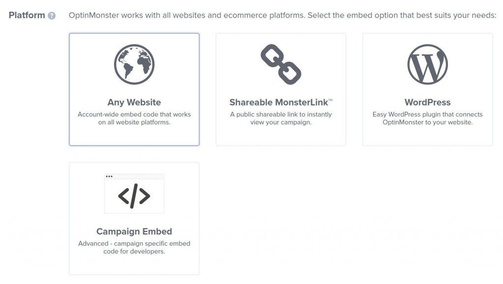 OptinMonster publish