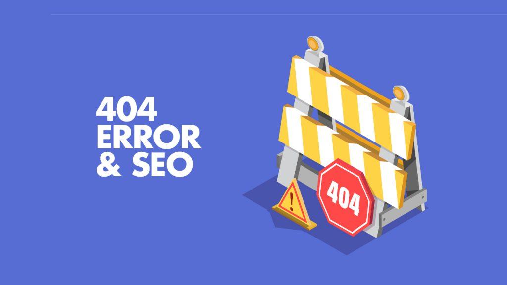 404 Error page SEO