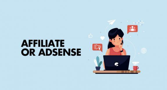 Affiliate versus AdSense