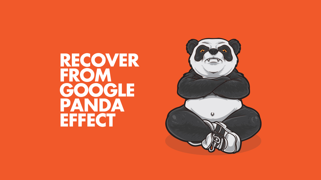 Recover from Google Panda Effect