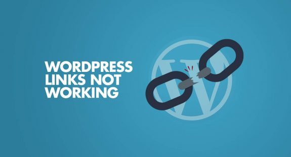 WordPress Links Not Working