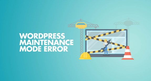 WordPress Maintenance Mode Error