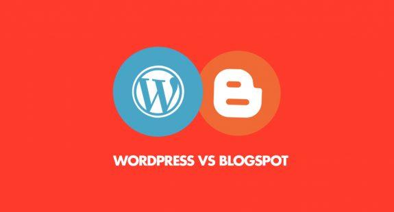 WordPress vs Blogspot